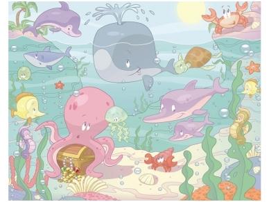 WALLTASTIC fototapetai Sea Nursery